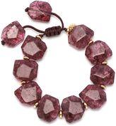 Lola Rose Tyler Burgundy Rock Crystal Bracelet