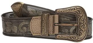 Leather Rock Anya Belt (Brass) Women's Belts