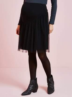 Vertbaudet Plumetis Skirt, for Maternity