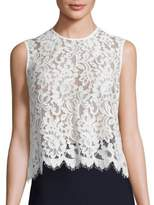 SET Sleeveless Lace Blouse