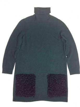 Louis Vuitton \N Green Cashmere Dresses