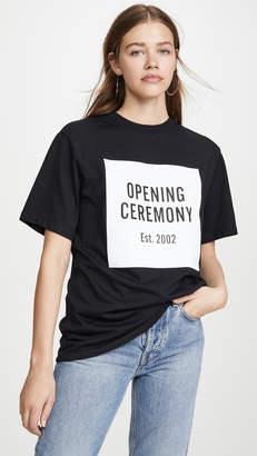 Opening Ceremony Box Logo Tee
