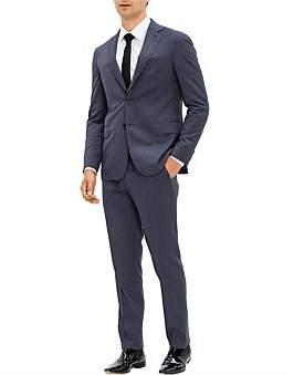 Pal Zileri 2B Sb Sv Fl Pkt Notch Lapel Wl Key Pinstripe Suit