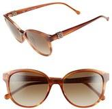 Loewe Women's 'Iris' 54Mm Sunglasses - Light Brown