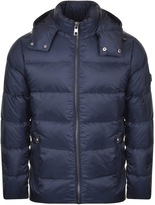 Michael Kors Padded Down Jacket Navy