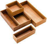 Stackable Mahogany Drawer Organziers