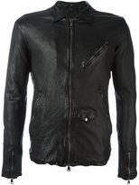 Giorgio Brato central zip jacket