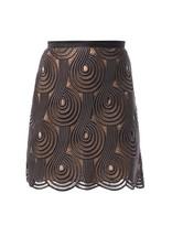 Christopher Kane Clef lace mini skirt
