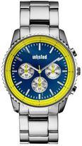 Unlisted- A Kenneth Cole Production Men's Silver Tone Bracelet Watch
