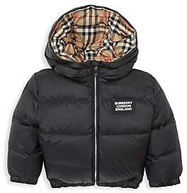 Burberry Baby's & Little Kid's IB6 Rayan Reversible Down Jacket