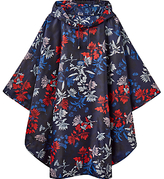 Joules Floral Poncho, Navy/Multi