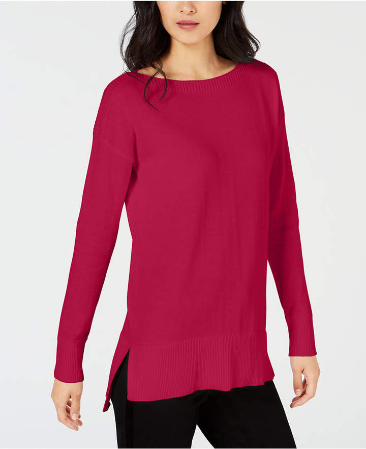 Maison Jules High-Low Hem Sweater