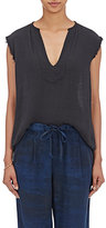 Raquel Allegra Women's Gauze Tunic-BLACK