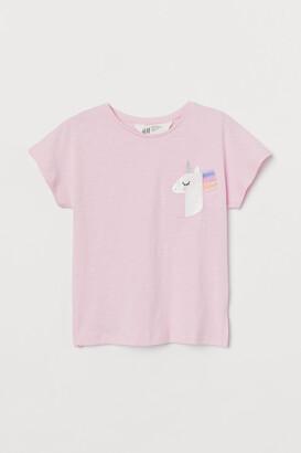 H&M Graphic-design Top