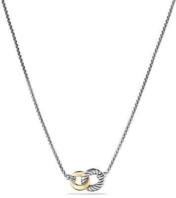 David Yurman Belmont Necklace with 18K Gold