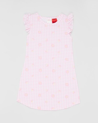 Milky Gingham Nightie - Kids
