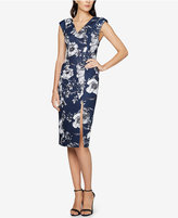 Fame and Partners Floral-Print Sheath Dress
