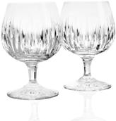 Reed & Barton Drinkware, Set of 2 Soho Brandy Glasses
