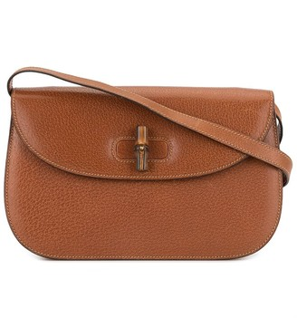Gucci Pre-Owned small Bamboo Line crossbody bag