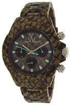 Toy Watch ToyWatch FLE04RE Unisex TW Fluo Extreme Chrono Snake Print Plasteramic and