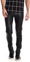 AG Jeans Dylan Genuine Leather Slim Skinny Pant