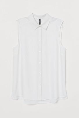 H&M Sleeveless blouse