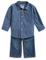 Levi'S Woven Shirt and Pants Set