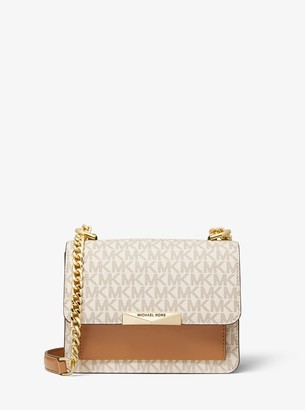 MICHAEL Michael Kors Jade Extra-Small Logo and Leather Crossbody Bag