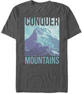 Fifth Sun Charcoal Heather 'Conquer Mountains' Tee - Men's Regular & Big