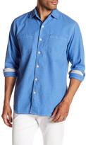 Tommy Bahama New Seaside Flannel Regular Fit Shirt