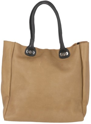 Marni Beige Leather Handbags