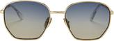 Le Specs Luxe Ottoman Slate Mirror Sunglasses