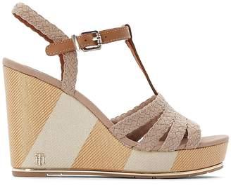 Tommy Hilfiger Selena 1D Wedge Heel Sandals with Sling-Back