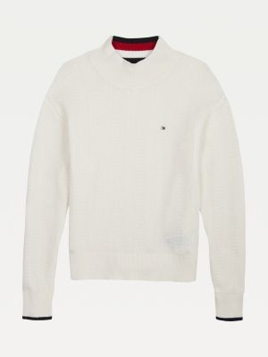 Tommy Hilfiger Pure Cotton Signature Jumper