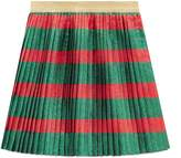 Gucci Children's Web lurex skirt