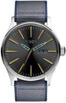 Nixon Men&s Sentry Leather Watch