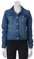 Mudd Juniors' Faded Denim Jacket