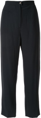Chanel Pre-Owned cropped tailored trousers