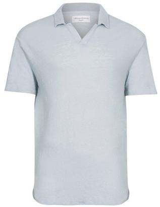 Officine Generale Simon linen polo shirt