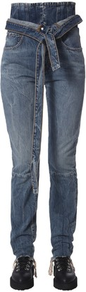 "Unravel spray corset"" jeans"