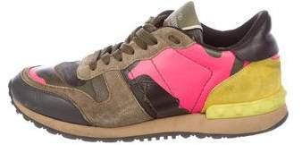 Valentino Rockrunner Low-Top Sneakers