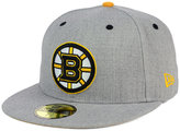New Era Boston Bruins Heather TC 59FIFTY Cap
