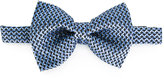 Tom Ford tonal dot pattern bow tie - men - Silk - One Size