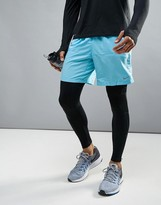 Nike Running 7 Distance Shorts In Blue 642807-432