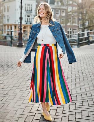 Boden Fairfax Pleated Skirt