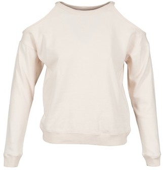 BCBGeneration 616750 women's Long Sleeve T-shirt in Pink