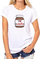 ANGRYDEER Jar Of Nutella I Affection Nutella Womens T-Shirt