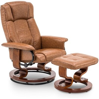 Leather Swivel Recliner Shop The World S Largest Collection Of Fashion Shopstyle