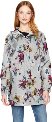 Joules Women's Golightly Waterproof Pack-Away Jacket