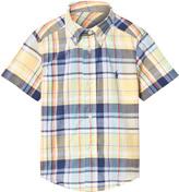 Ralph Lauren Yellow Madras Check Shirt